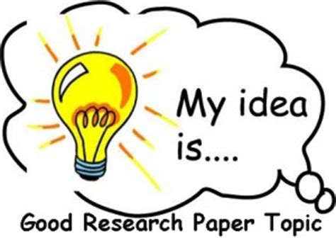 Organizing Your Social Sciences Research Paper: Choosing a
